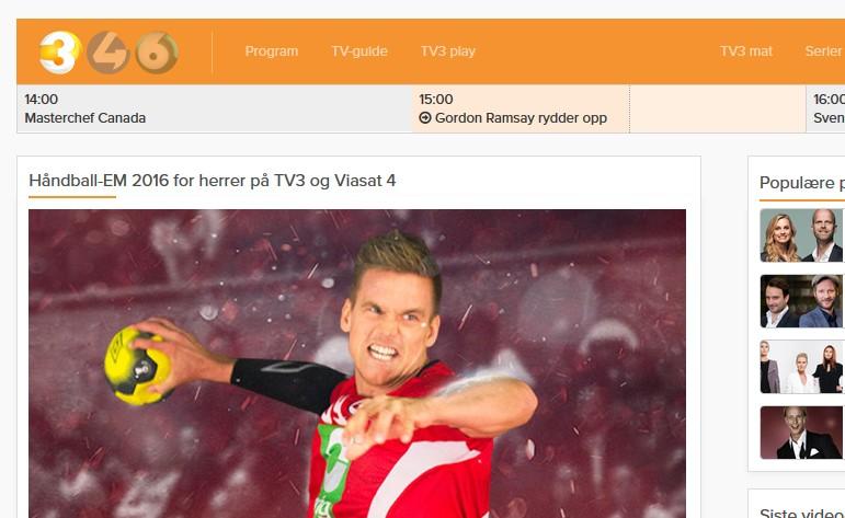 TV3 i utlandet