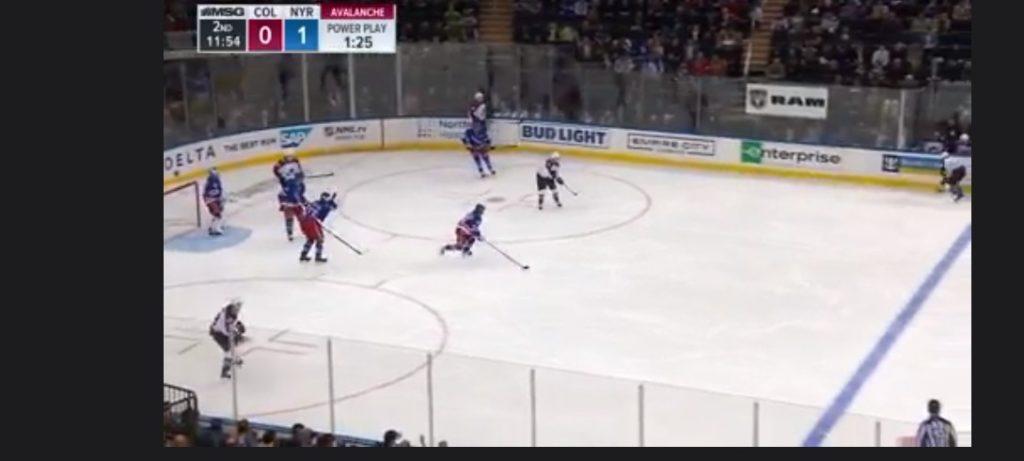 Her ser jeg ishockey på Viafree i utlandet ved hjelp av PureVPN