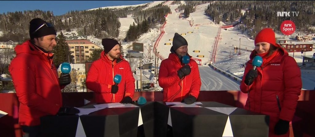 Klare for alpin VM på nrk i utlandet