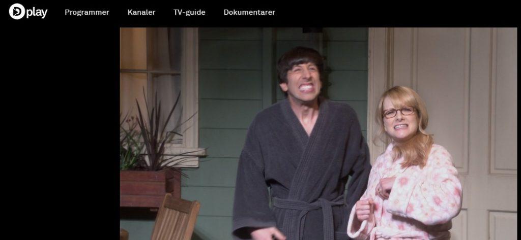 Se Big Bang Theory på Dplay i utlandet