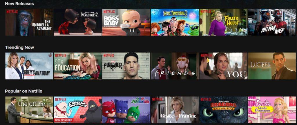 Det er masse innhold på Netflix i USA som ikke finnes i Norge